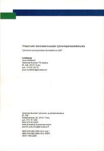 Delfoi, TKTT Talonrakennusala tk,, Osaamistarpeiden ennakointi446