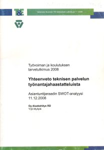 Delfoi, TKTT Tekninen palvelu, k,, Osaamistarpeiden ennakointi453