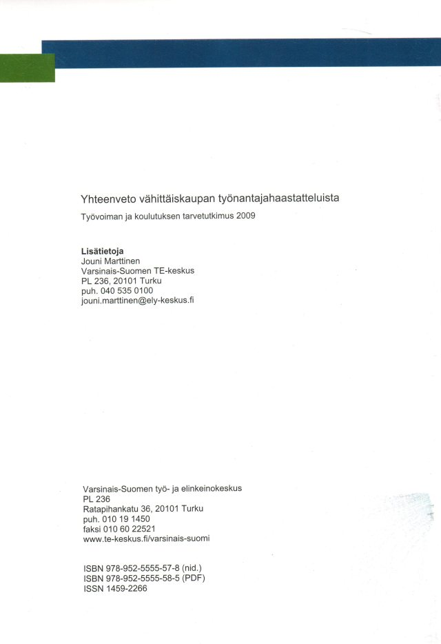Lisätietoja TKTT:sta ja EU:n parhaimmasta alueellisesta ennakointikäytännöstä mm.  Jouni Marttiselta