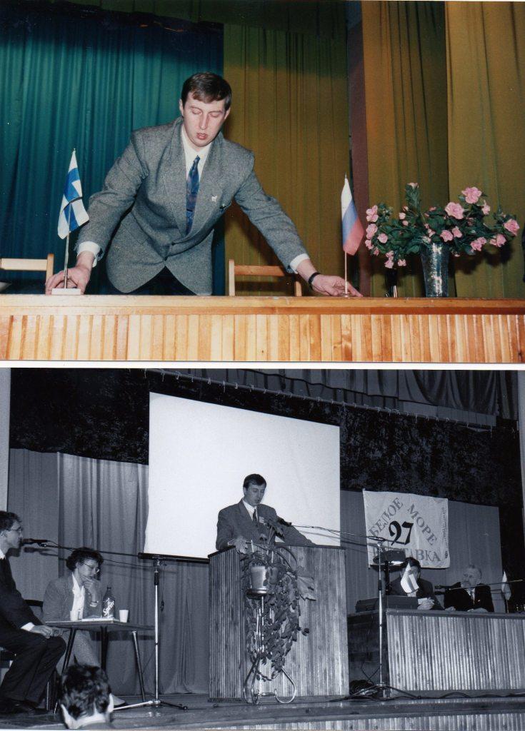 Ilja V. Minin, varsinainen tekijä ja mahdollistaja, Kantalahden kaupungin ulkoisten asioiden osastolla työskennellyt kumppanimme. KIITOS ILJA ja Aleksander Konjuhov ja muut - teimme historiaa!