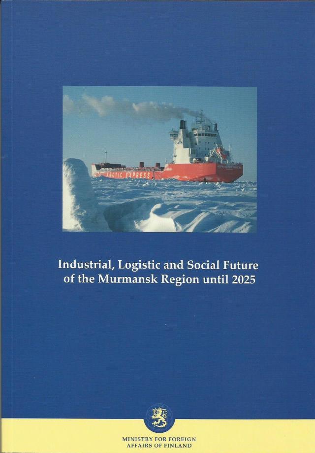 Sponsori julkaisun kannessa: Aker Arctic Technology Oy