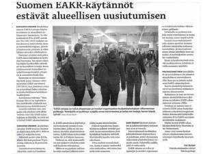 Suomenmaa 2.9.2015, EAKR